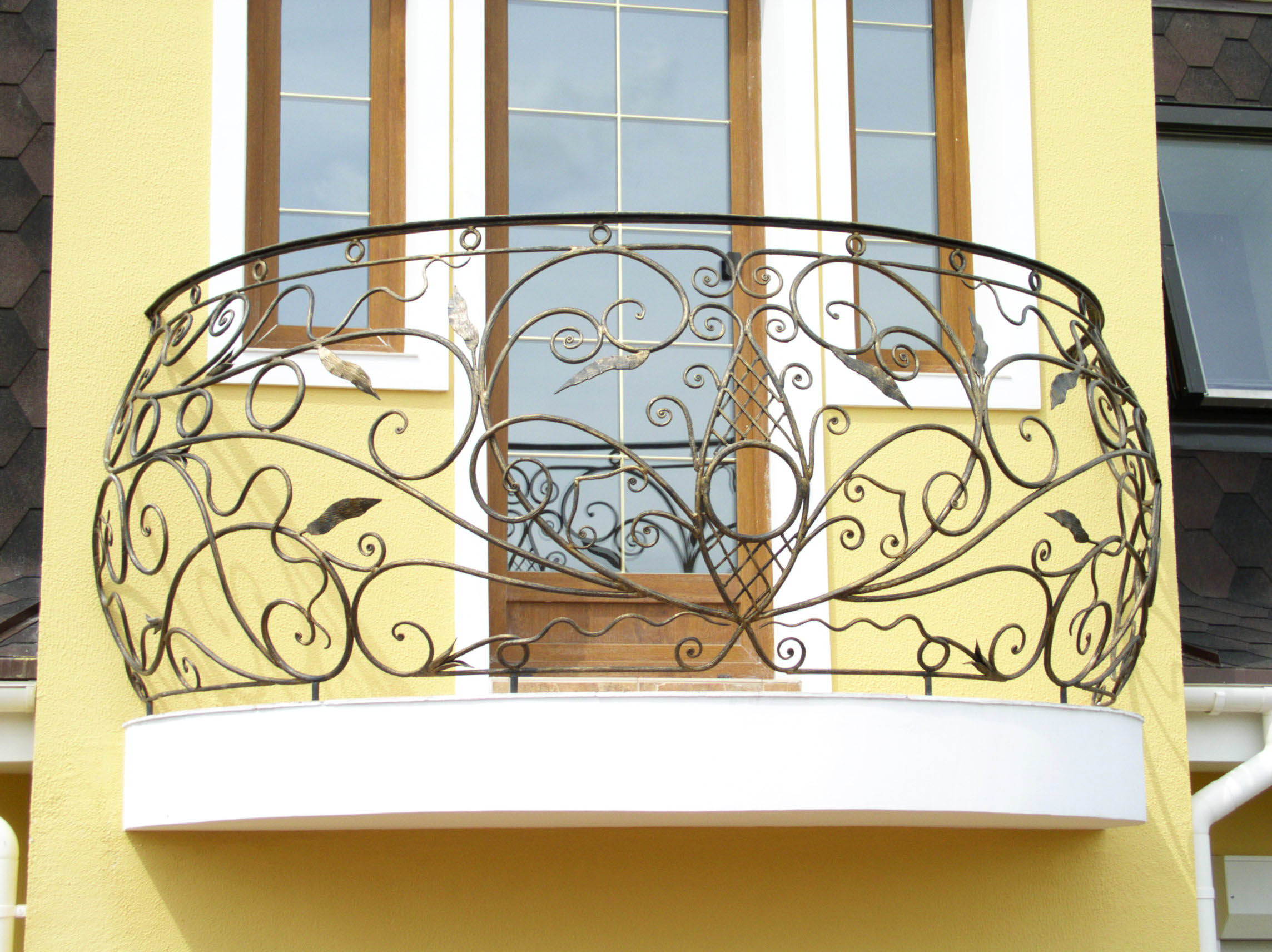 Кованые балконы и балконные ограждения в москве.